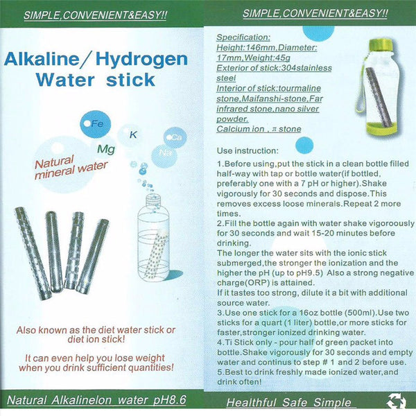 Alkaline Water Stick