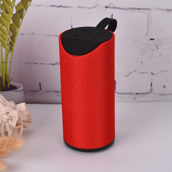TG113 Portable & Waterproof Wireless Bluetooth Speaker with Best Sound Quality Playing with Mobile | Tablet | Laptop | AUX | Memory Card | Pen Drive | FM (Assorted Color)