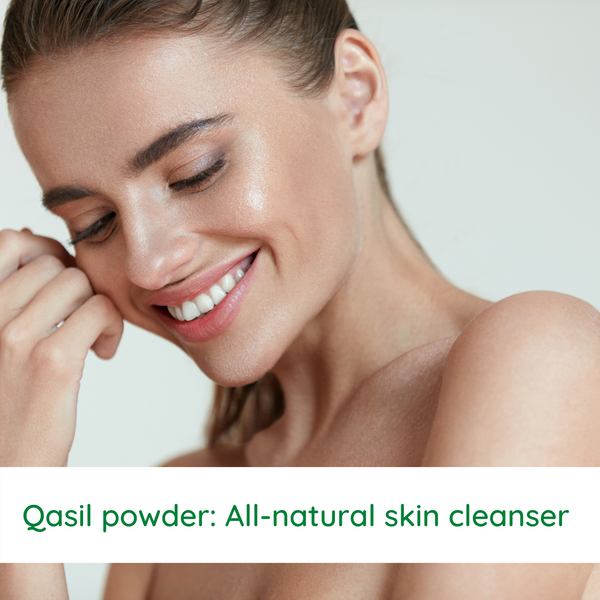 Qasil powder: All-natural skin cleanser