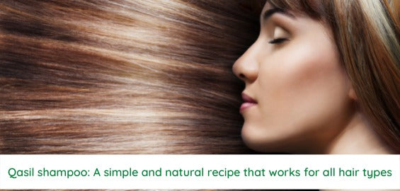 Qasil shampoo: A simple and natural recipe that works for all hair types