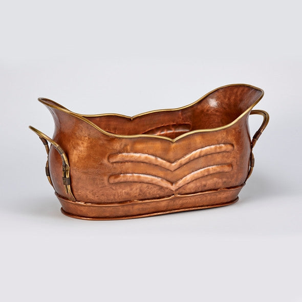 Curved Copper Gondola
