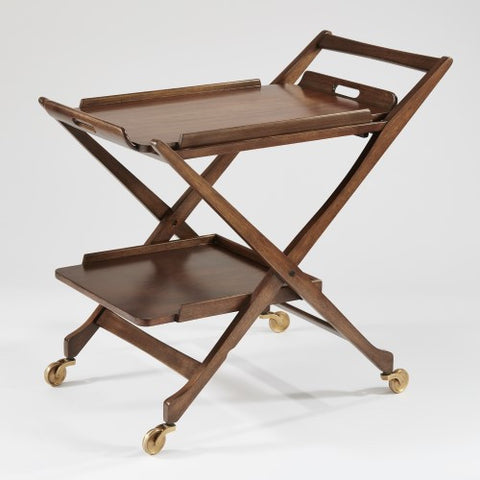 Hemingway Bar Cart w/Removable Top Tray