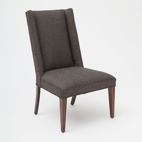 Straight Wing Side Chair-Alvaro Grey