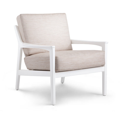 Albin Lounge Chair (Covers Sold Separately), White