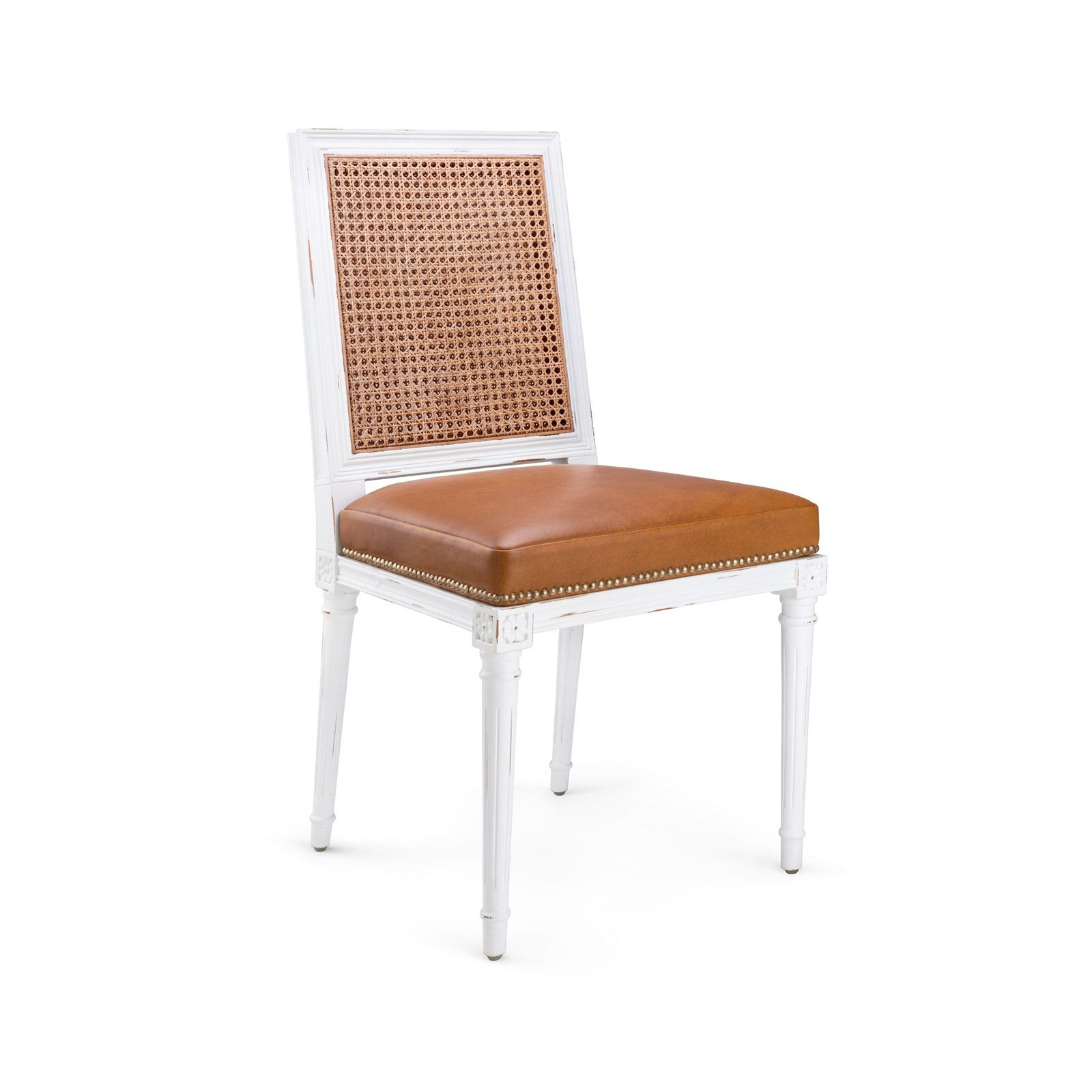 Augusta Side Chair, White