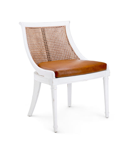 Bay Armchair, White