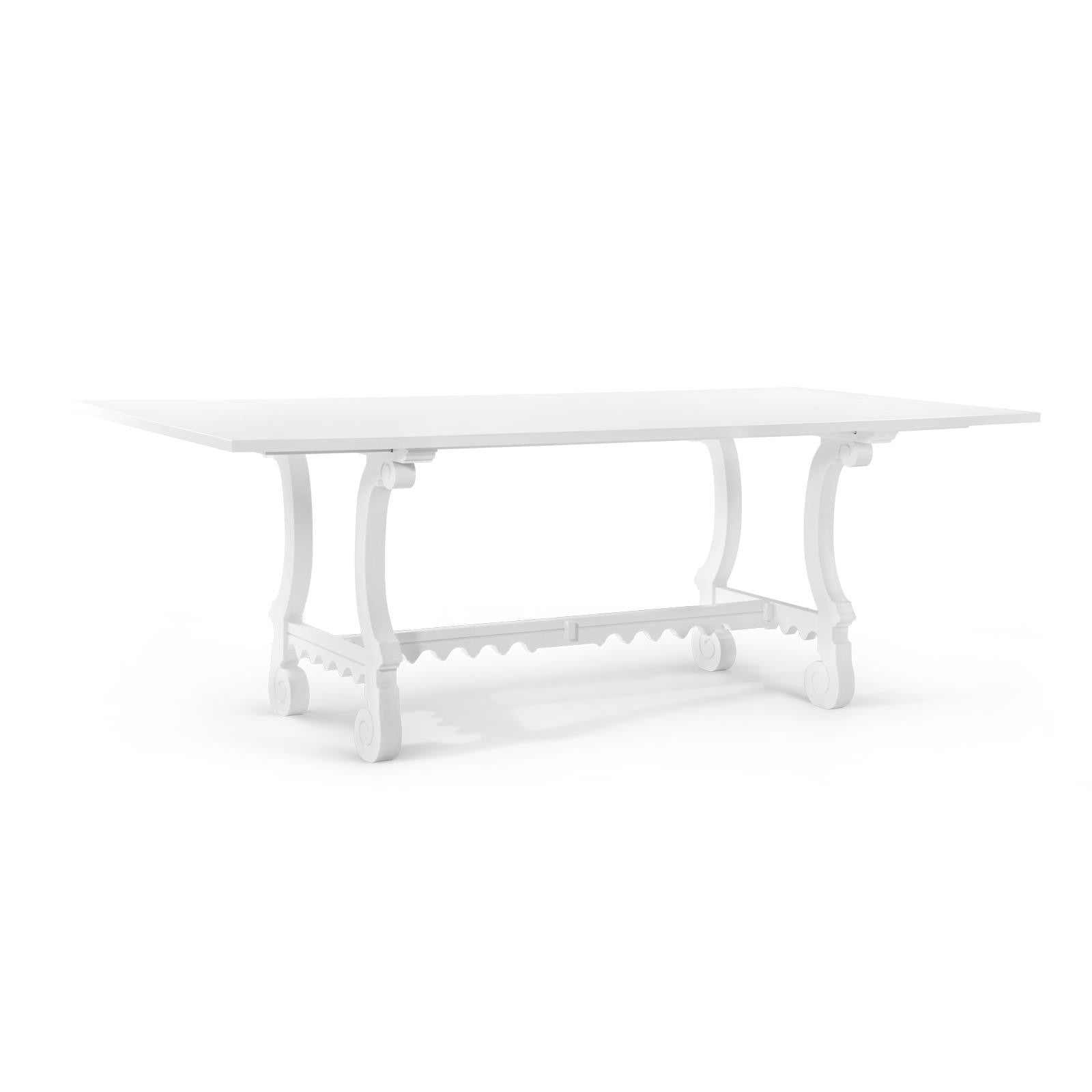 Malta Dining Table, White