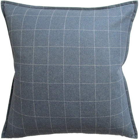 Windowpane Wool Blue