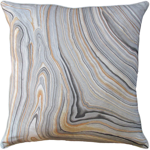 Cararra Pillow in Smoke