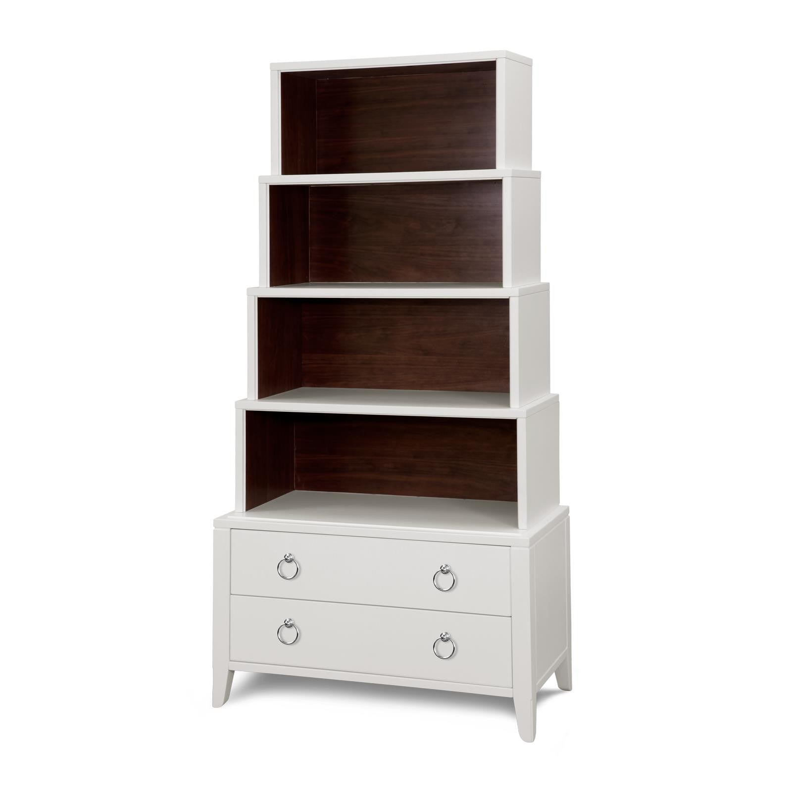 Piedmont Display Case, White