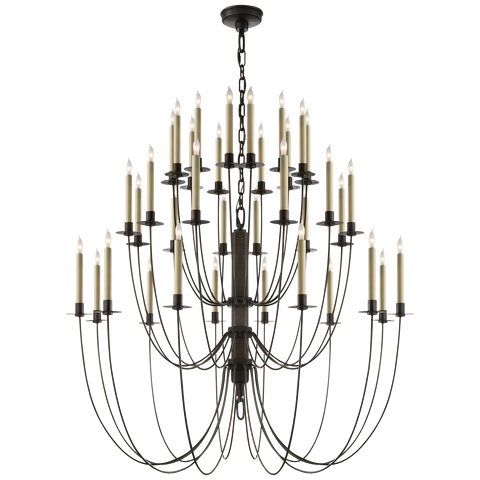 Erika Three-Tier Chandelier