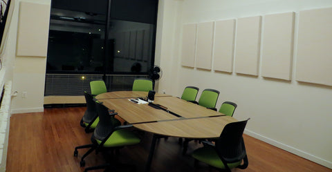Conference Room Sound Treatment