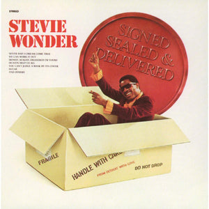 Stevie Wonder - Signed, Sealed & Delivered LP
