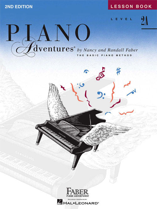 Faber Piano Adventures® Level 2A – Lesson Book – 2nd Edition