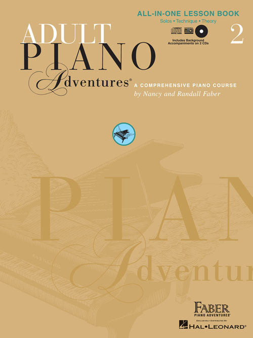 Adult Piano Adventures - All-in-One Lesson Book 2