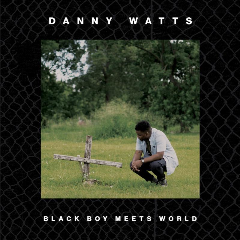 Danny Watts ‎– Black Boy Meets World LP