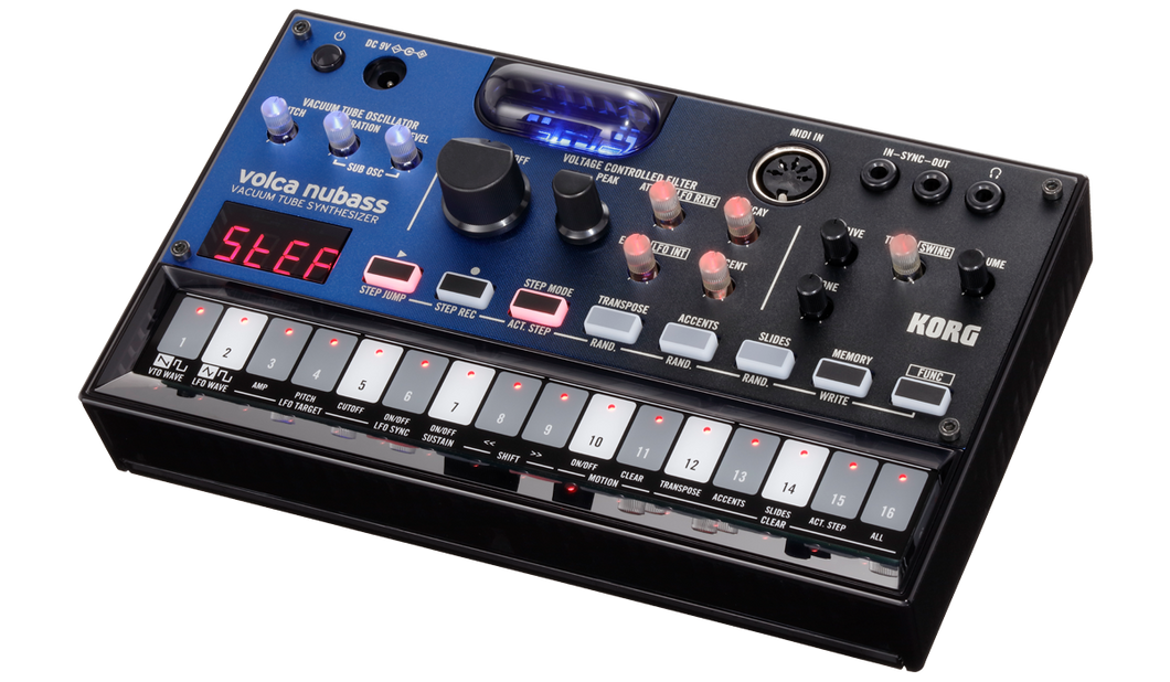 Korg Volca NuBass Vacuum Tube Bass Synth