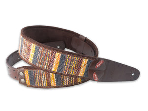 Right On! Maracaibo Red Guitar Strap