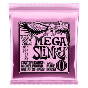 Ernie Ball Mega Slinky Nickel Wound Electric Guitar Strings - 10.5-48 Gauge