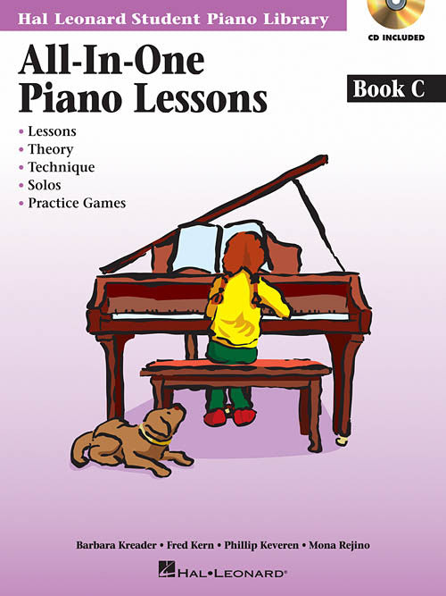 All-In-One Piano Lessons - Book C