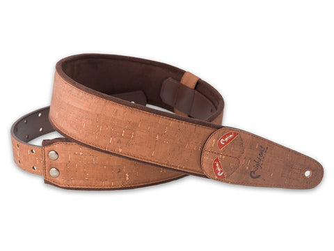 Right On! MOJO Brown Cork Strap