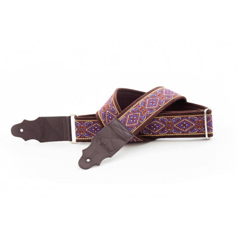 Right On! Standard Plus Purple Guitar Strap