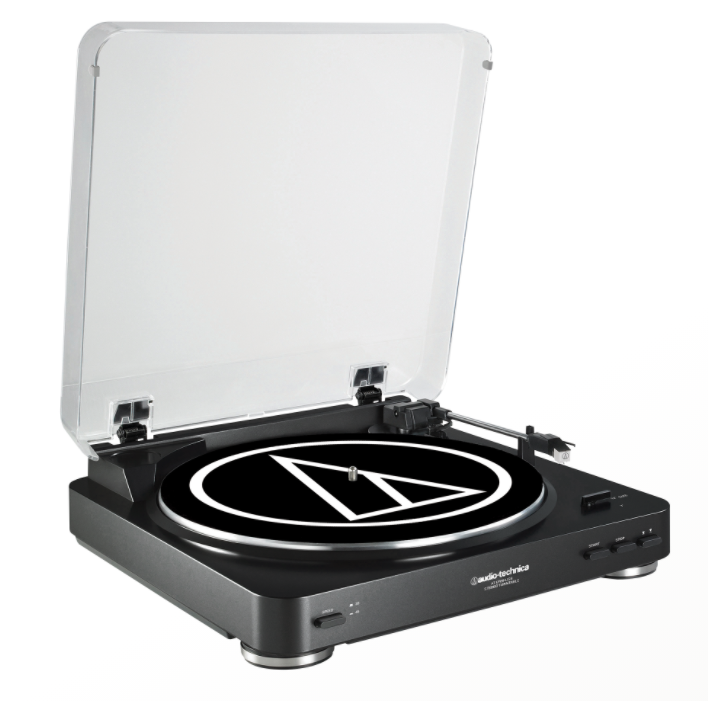 Fully Automatic Belt-Drive Stereo Turntable (USB & Analog) AT-LP60-USB