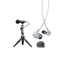 Load image into Gallery viewer, Shure MV88+ SE215-CL Portable Videography Bundle