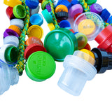 Marcos China Recycled Bottle Cap Triple Rope Shaker