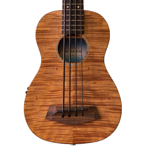 Kala U-BASS KA-UBASS-EM-FS-W/BAG Exotic Mahogany Fretted with Bag