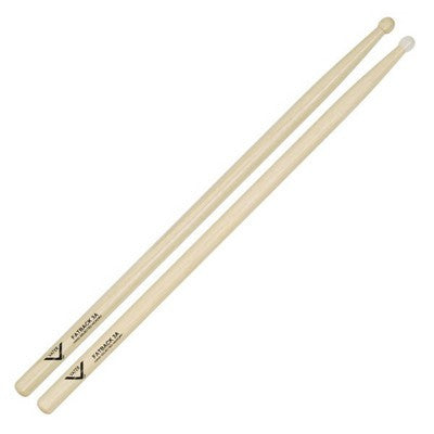 Vater 3A Fat Back Hickory Wood Tip Drum Sticks - A Pair
