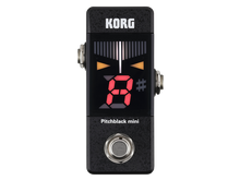 Load image into Gallery viewer, Korg Pitchblack Mini Pedal Tuner