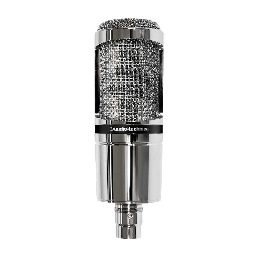 Audio-Technica AT2020 Condenser Microphone - Limited Edition Chrome