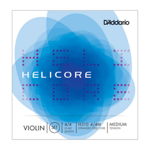 D'Addario Helicore Violin String Set - 4/4 Medium Tension