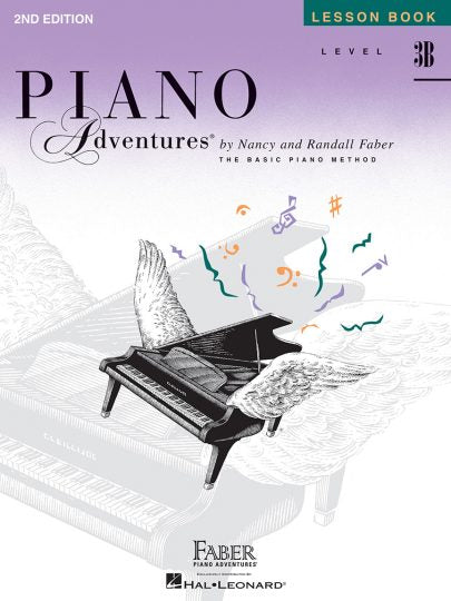 Faber Piano Adventures® Level 3B – Lesson Book – 2nd Edition
