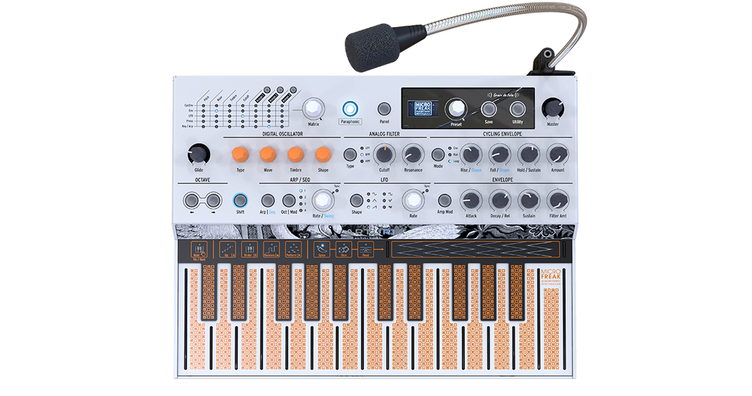 Arturia MicroFreak Vocoder Edition Hybrid Synthesizer