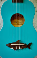 Load image into Gallery viewer, Makala MK-SS/BLU Shark Mako Blue Soprano Ukulele