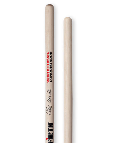 "Vic Firth Alex Acuña ""Clear Conquistador"" World Classic® Sticks and Mallets"