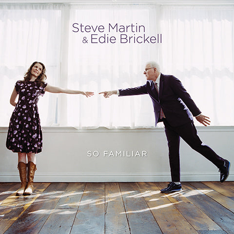 Steve Martin & Edie Brickell ‎– So Familiar LP