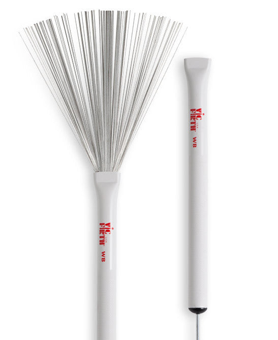 Vic Firth Retractable Wire Brushes - A Pair