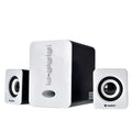 Nubwo NS-32 Shadow Subwoofer Speaker 2.1 USB - สีขาว