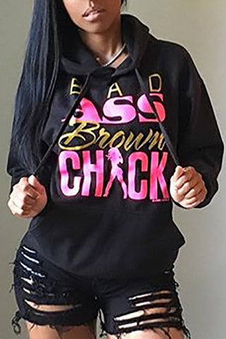 Bad Chic Hoodie Sweat Shirt - Miracles Fashion Boutique