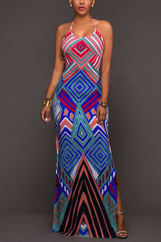 Caribbean Love Fashion Maxi Dress