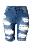 Catch Me If You Can Denim Shorts - Miracles Fashion Boutique