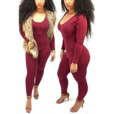 Get To Know You Jumpsuit One Piece - Miracles Fashion Boutique