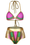 Golden Dreams Women's Swimwear Bikinis