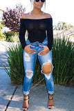 Hold It Down Denim Pants - Miracles Fashion Boutique