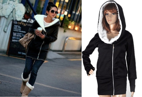 Women's Hoodie Jacket Coat - 6 Colors! - Miracles Fashion Boutique