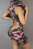 Ms. Lady Camo One Piece Jumpsuit