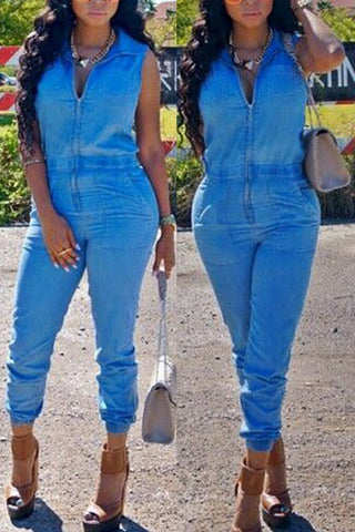 My Fabulous Life Denim Jumpsuit - Miracles Fashion Boutique